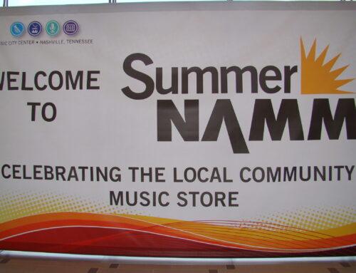 SOMMER NAMM SHOW 2013