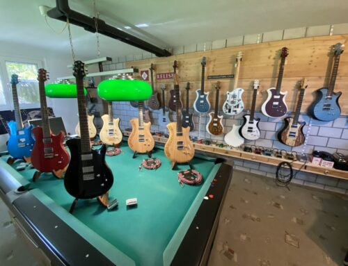Relish Guitars Sonderausstellung